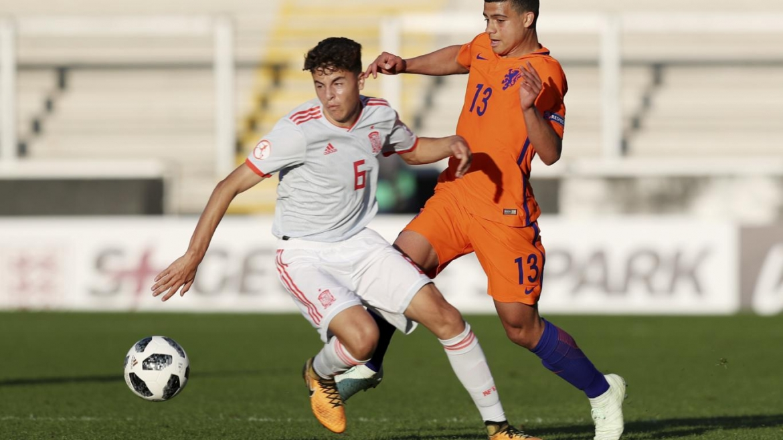 Iván Morante en el once ideal del Europeo sub-17