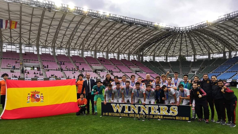 Valera lleva a España Sub-16 a ganar la Dream Cup