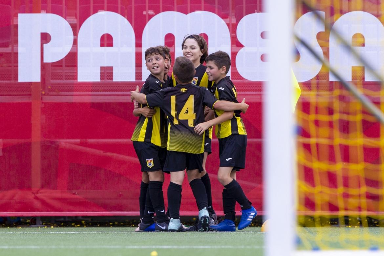 El Alevín E consigue el pase a la Final de la Copa Campeones