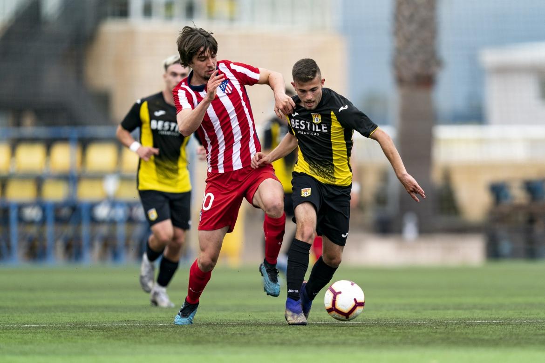 CD Roda Juvenil A se reparte los puntos con el Atlético Madrileño