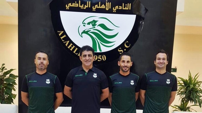 Jorge Peris nuevo entrenador del Al-Ahli de Catar